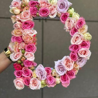 Cvetno slovo d