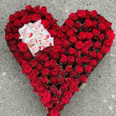 101 ruza srce